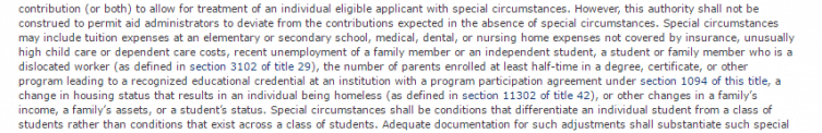 Fafsa Special Circumstances Letter Example from www.collegechoice.net